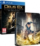 Deus Ex Mankind Divided Steelbook Edition PS4