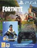 Dual Shock 4 Black V2 Fortnite bundle PS4
