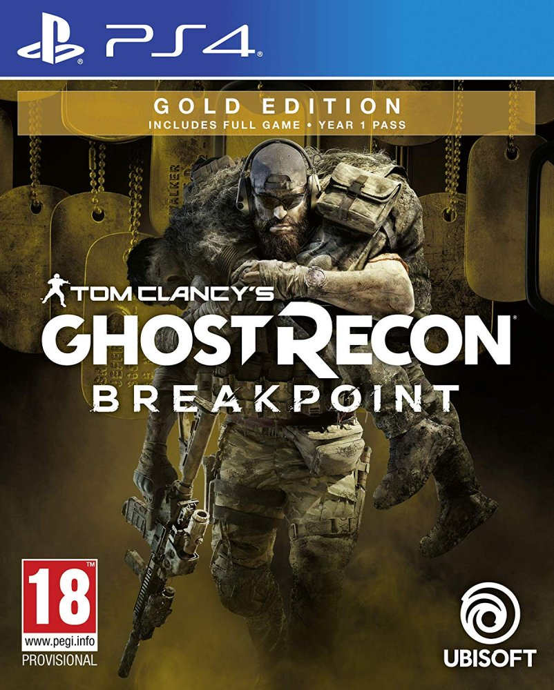 Tom Clancys Ghost Recon Breakpoint Gold Edition PS4