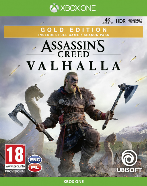 Assassins Creed Valhalla Gold edition Xbox One
