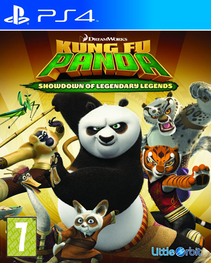 Kung Fu Panda Showdown of Legendary PS4
