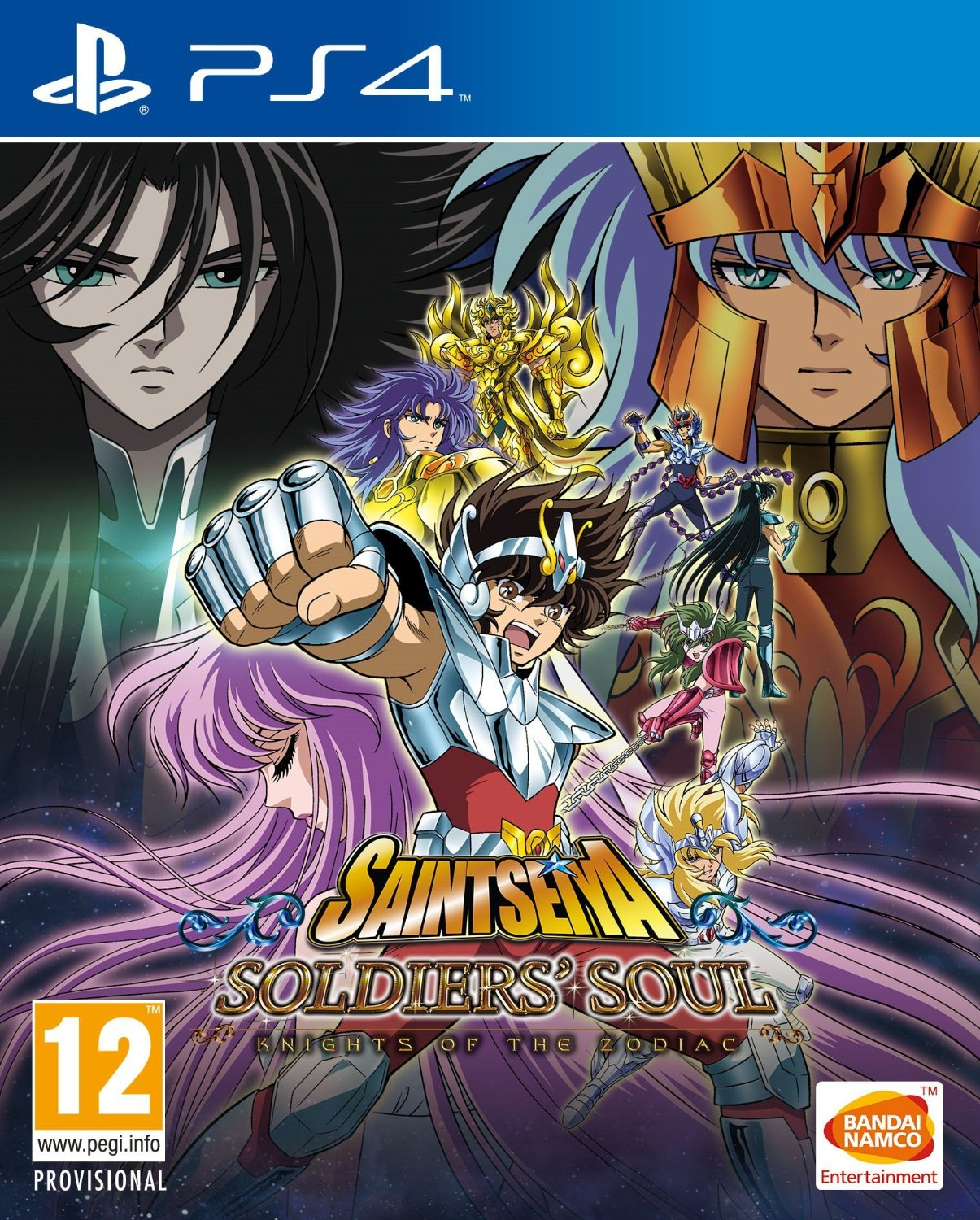 Saint Seiya Knights of the Zodiac Soldiers Soul PS4