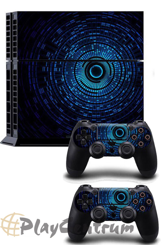 ProSkin Folie Playstation 4 Blue Circle PS4