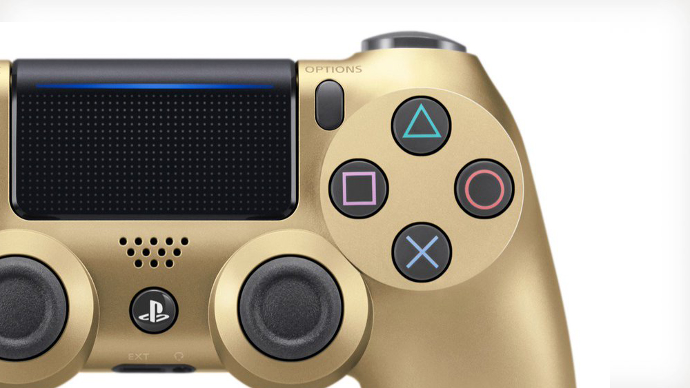 Dual Shock 4 Gold V2 PS4