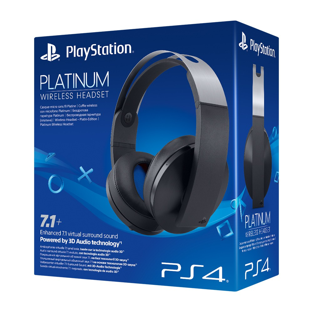 Sony Wireless Platinum Headset 7.1 PS4