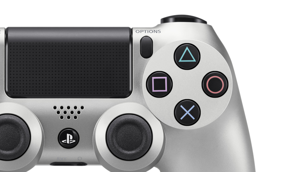 Dual Shock 4 Silver V2 PS4