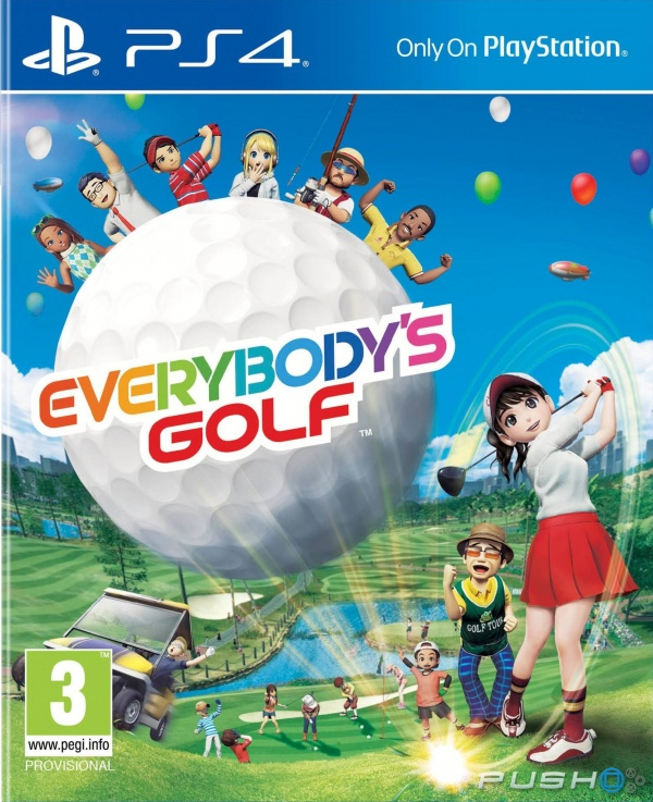 Everybodys Golf PS4