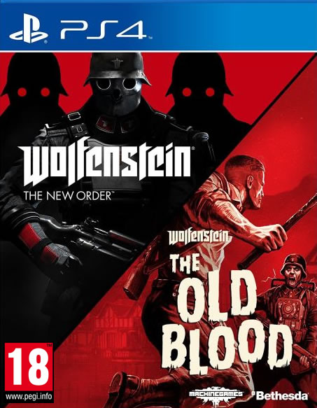 Wolfenstein The New Order Wolfenstein The Old Blood PS4